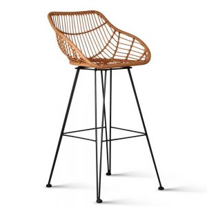 BA H 3922 NTX2 00 300x300 - Henry Rattan Bar Stool Natural