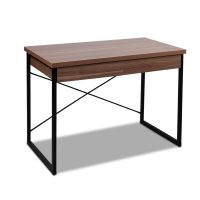 MET DESK 118 WN 00 - Zoe Desk Walnut