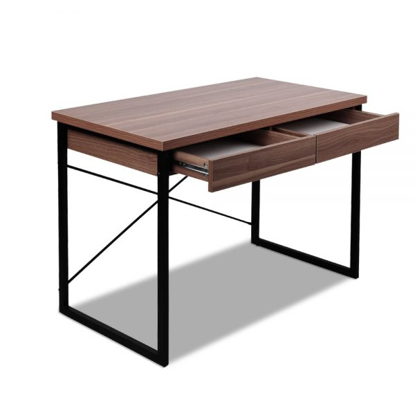 MET DESK 118 WN 03 600x600 - Zoe Desk Walnut