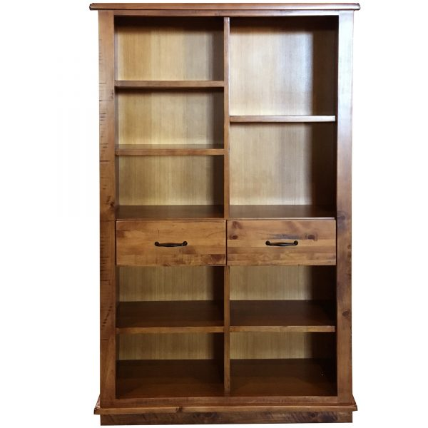 donnybrook Bookcase 600x600 - Donnybrook Staggered Pine Bookcase