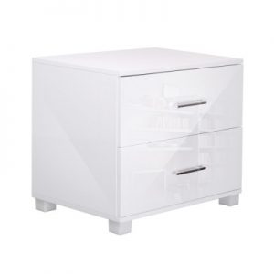 furni gloss side wh 00 300x300 - Jo Hi Gloss White Bedside