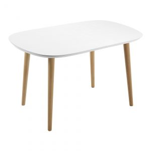 oakland 300x300 - Oakland Extension Dining Table - White