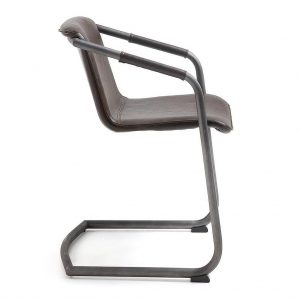 trion4 300x300 - Trion Dining Chair - Dark Brown