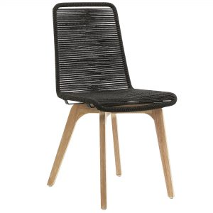 Glendon 1 300x300 - Glendon Dining Chair - Black