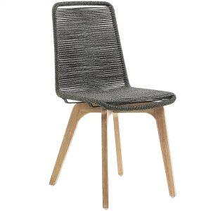 Glendon 7 300x300 - Glendon Dining Chair - Grey