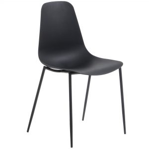 MetalDiningChair 12 300x300 - Wassu Dining Chair - Black