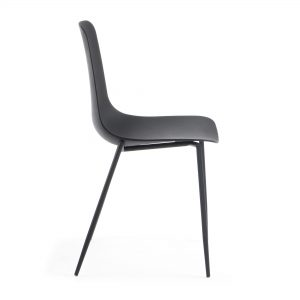MetalDiningChair 13 300x300 - Wassu Dining Chair - Black