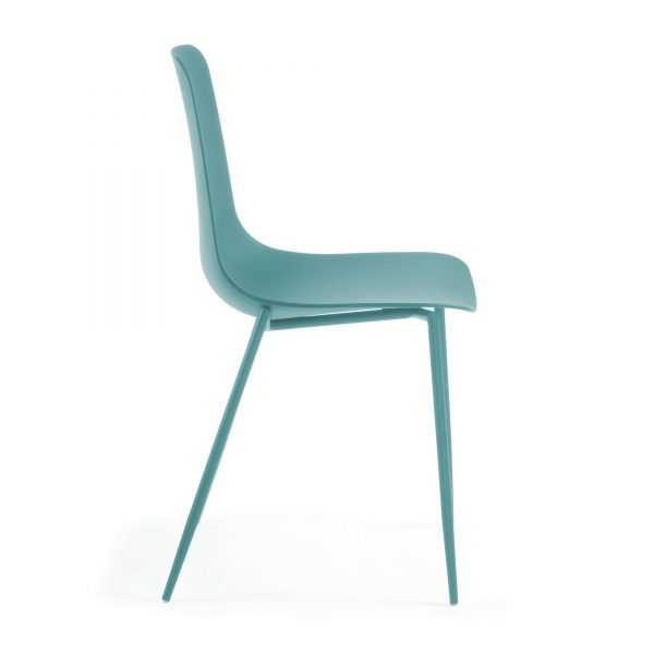 MetalDiningChair 3 600x600 - Wassu Dining Chair - Blue