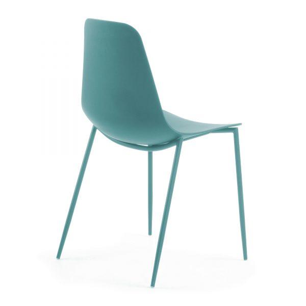 MetalDiningChair 4 600x600 - Wassu Dining Chair - Blue