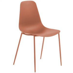 MetalDiningChair 6 300x300 - Wassu Dining Chair - Dark Orange