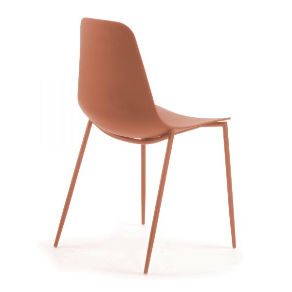 MetalDiningChair 8 600x600 - Wassu Dining Chair - Dark Orange