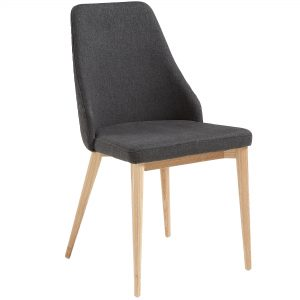 Roxie 4 300x300 - Roxie Dining Chair - Dark Grey