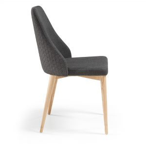 Roxie 5 300x300 - Roxie Dining Chair - Dark Grey