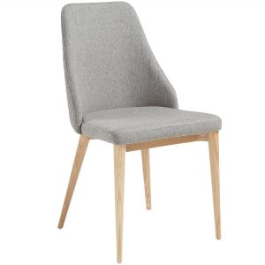 Roxie 7 300x300 - Roxie Dining Chair - Light Grey