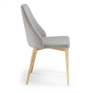 Roxie 8 300x300 - Roxie Dining Chair - Light Grey
