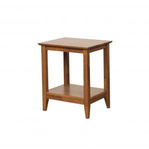 K40.14 Quadrant Lamp Table teak 300x300 - Quadrat Side Table - Teak