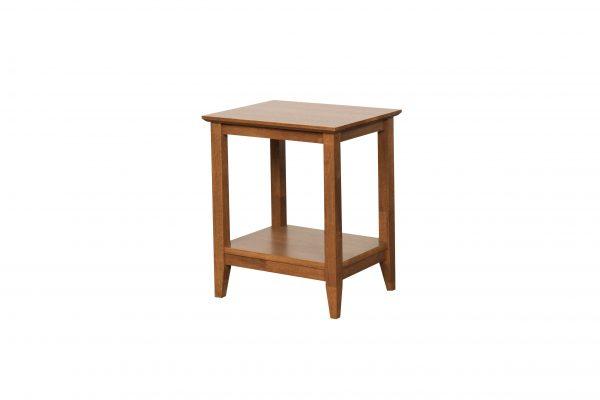 K40.14 Quadrant Lamp Table teak 600x400 - Quadrat Side Table - Teak
