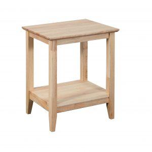 K40.15 Quadrant Rect Lamp Nat 300x300 - Quadrat Side Table - Natural