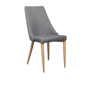 Retro Chair 300x300 - Retro Dining Chair - Grey