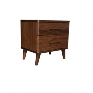 Scala Natural 1 300x300 - Scala 2 Drawer Bedside Table - Walnut