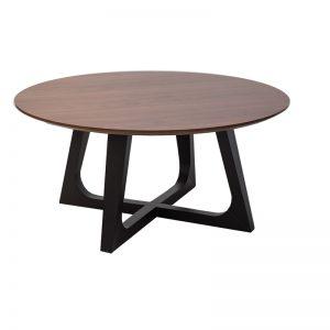 loftrd1 300x300 - Loft Round Coffee Table - Walnut