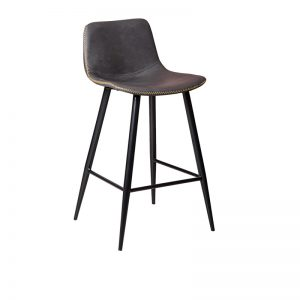 mendelf1 300x300 - Mendel Bar Stool - 4 Leg Base - GREY