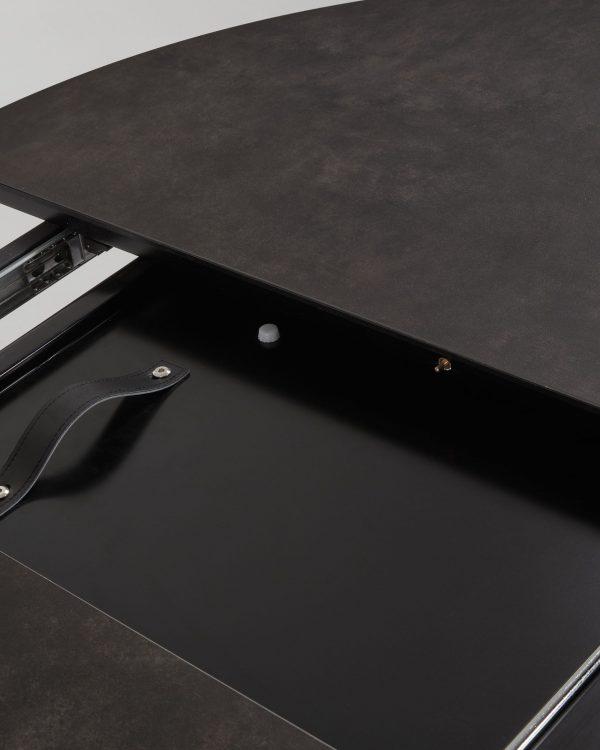 79a355f6b22b786e40dd6454331c07d9 600x750 - Haydee Extension Table 120cm - 160cm
