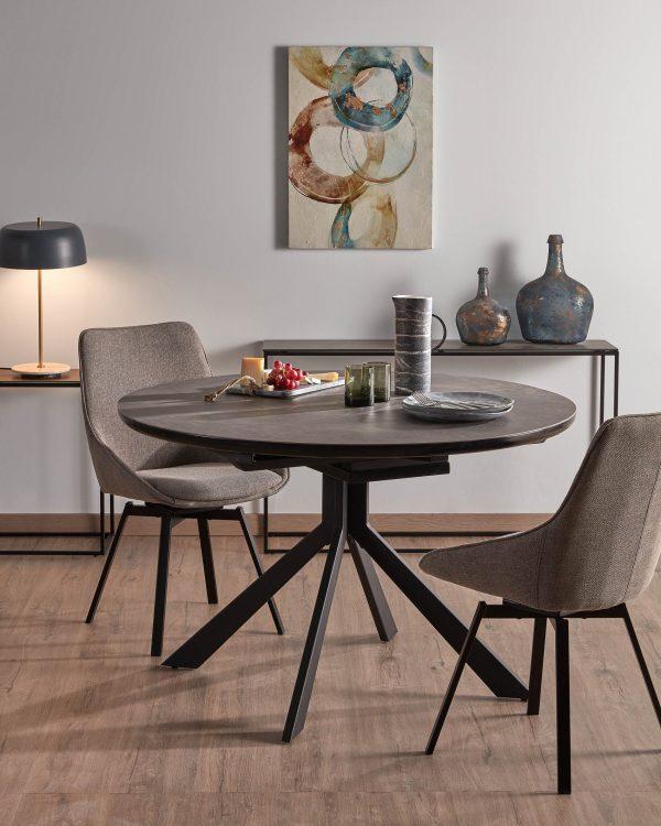 e36e369c9ea493ee851387f34086d847 600x750 - Haydee Extension Table 120cm - 160cm