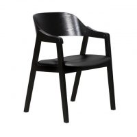 DC0025 - Norway Dining Chair - Black