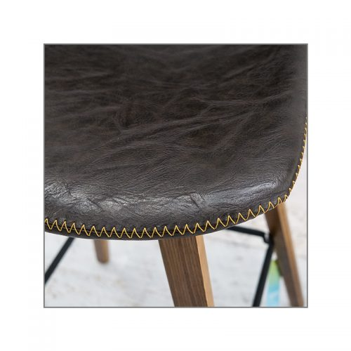 Levy Barstool Antique 500x500 - Levy Bar Stool - Antique