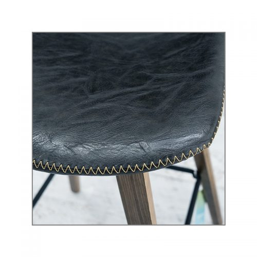 Levy Barstool Charcoal 500x500 - Levy Bar Stool - Antique