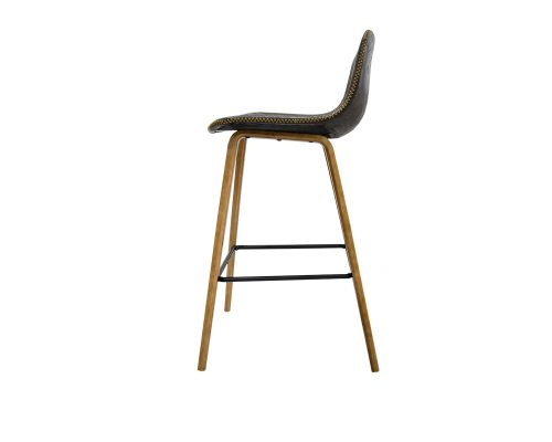 Levy Barstool Side View 500x400 - Levy Bar Stool - Antique