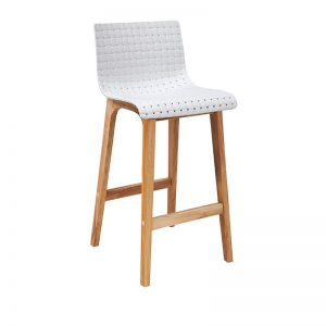 rhone4 300x300 - Rhone Bar Stool - White