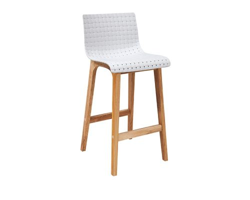 rhone4 500x400 - Rhone Bar Stool - White