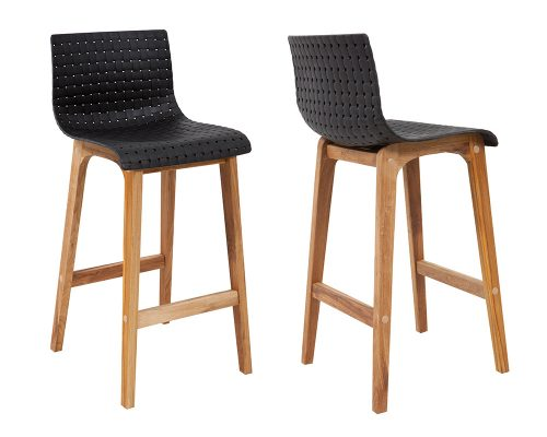 rhone5 500x400 - Rhone Bar Stool - Black