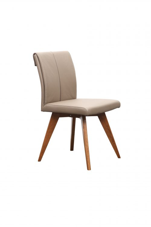 A1.14 Hendriks Chair Mocha Teak 500x750 - Hendriks Dining Chair Teak - Mocha Leather