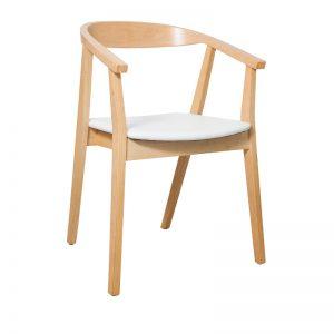 Albert Dining Chair White 300x300 - Albert Dining Chair - White