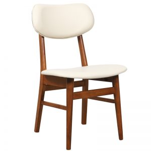 Gangnam Dining Chair Cream 1 300x300 - Gangnam Dining Chair Teak - Cream