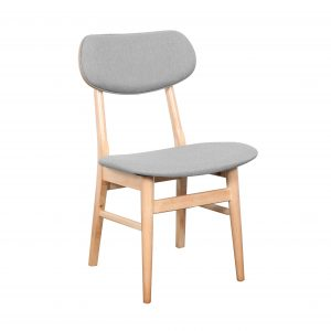 Gangnam Dining Chair Mushroom 300x300 - Gangnam Dining Chair Natural - Mushroom
