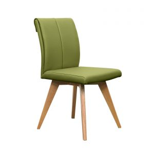 Hendriks Dining Chair Green 300x300 - Hendriks Dining Chair Teak - Green Leather