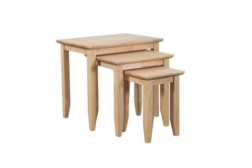 Quadrat Nest of 3 tables Natural 500x333 - Quadrat Nest of 3 tables  Natural