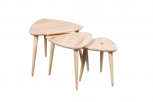 Scandi Nest of 3 tables 500x333 - Scandi Nest of 3 tables