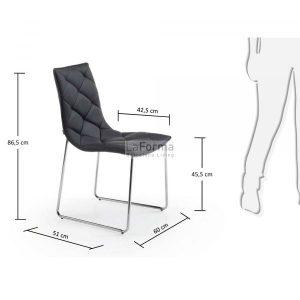 c040u01 3m 300x300 - Baxter Dining Chair - Black