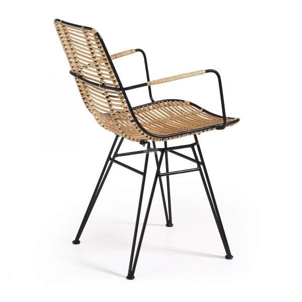 c824e01 3c 600x600 - Ashanti Dining Chair - Black