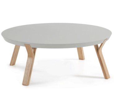 solid coffee table grey - Solid Coffee Table