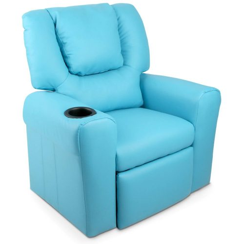 KID RECLINER BU 00 500x500 - Amy Kids Recliner Armchair - Blue