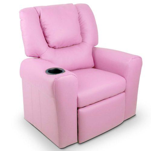 KID RECLINER PK 00 500x500 - Amy Kids Recliner Armchair - Purple