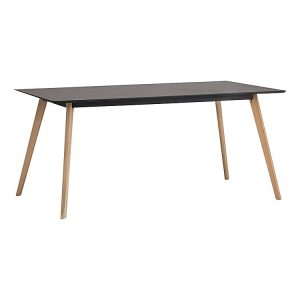 Line Black 300x300 - Line 1600  Dining Table - Black