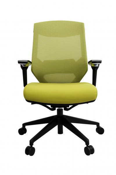 Vogue W04M Green 1 399x600 - Vogue Mid Back Office Chairs