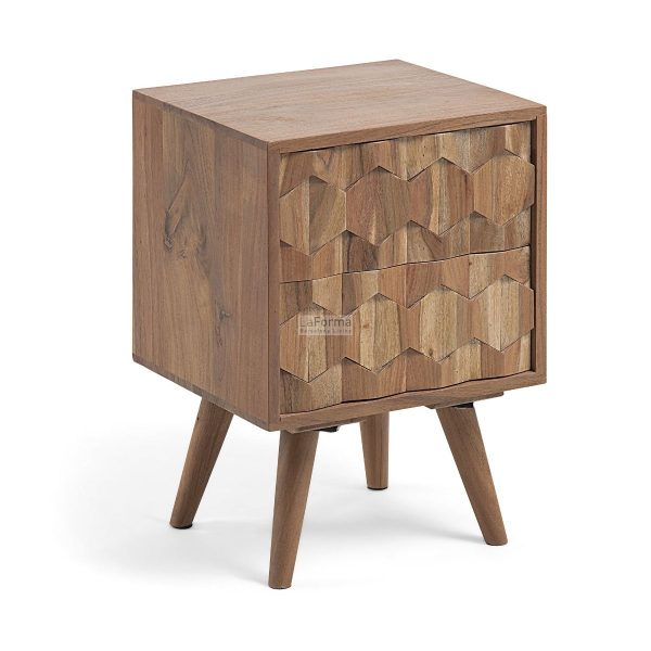 cc0469m43 3a 600x600 - Image 2 Drawer Bedside Table